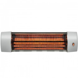 Radiator de cuart cu infrarosu Steba QH 1800,1800W,gri deschis