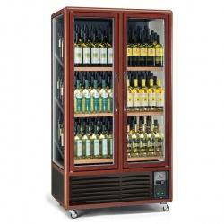Vitrina de vinuri Tecfrigo ENOTEC 680 1TV, capacitate 680 l, temperatura +5/+18°C, maro