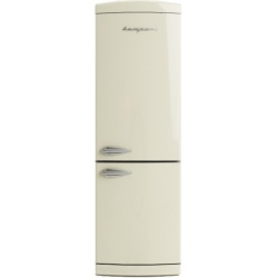 Combina Retro Bompani, Clasa A+, 316 litri, Latime 60 cm, Crem