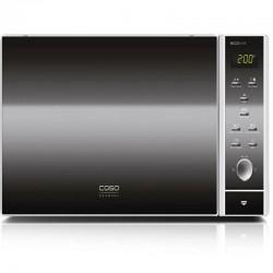 Cuptor cu microunde Caso MCG 25 chef,grill 1000W,microunde 900W,negru/otel inoxidabil